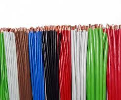 Цветовая палитра проводов ПГВА