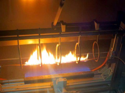 Проверка огнестойкости провода