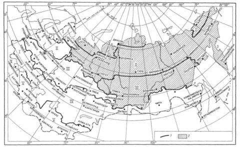 Пояса светового климата
