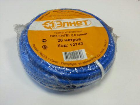 Проверяем маркировку и упаковку провода