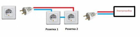 Схема подключения нашего устройства
