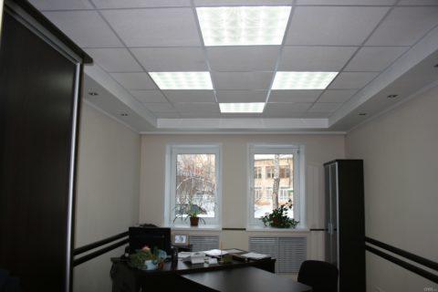 Совмещенное освещение помещения
