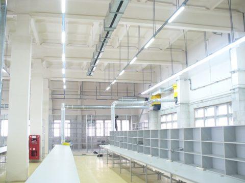 Совмещенное освещение производственных зданий