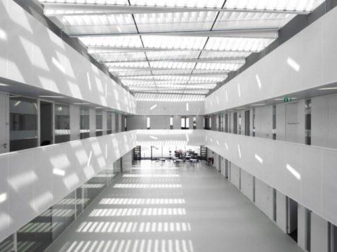 Виды естественного освещения зданий