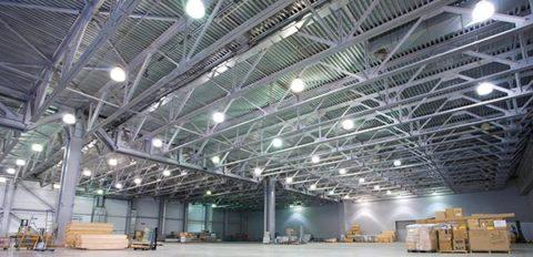 Искусственное освещение производственных зданий
