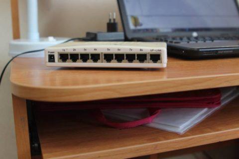 Разъемы под провод для соединения компьютерa и ноутбукa