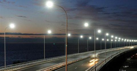 Для освещения магистралей