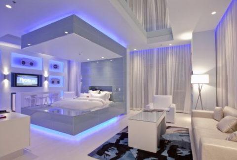 Как сделать правильное освещение в комнате?