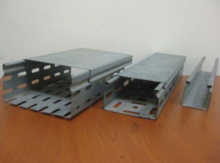 Короба металлические для электропроводки