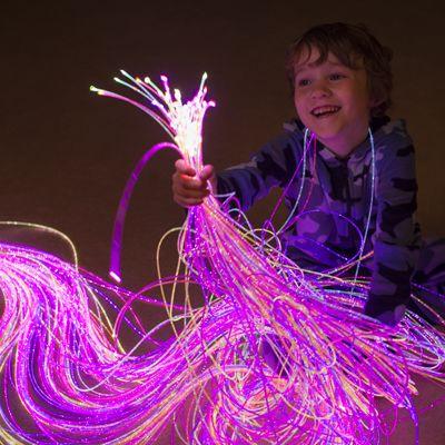 Оптоволоконное освещение детской
