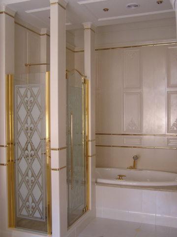 Освещение в ванной комнате для душевой кабинки