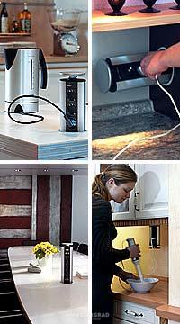 Подключение приборов на кухне