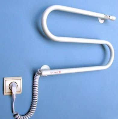 Полотенцесушитель с греющим кабелем