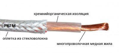 Расшифровка аббревиатуры проводов РКГМ