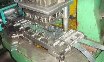 Штамповка наконечников из листовой меди толщиной 2 мм