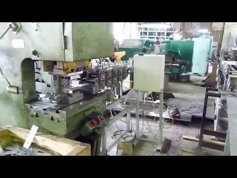 Станок для производства кабельных наконечников
