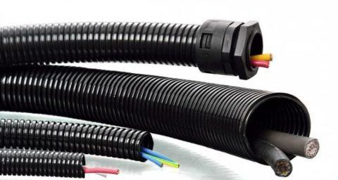 Защита провода от механических повреждений