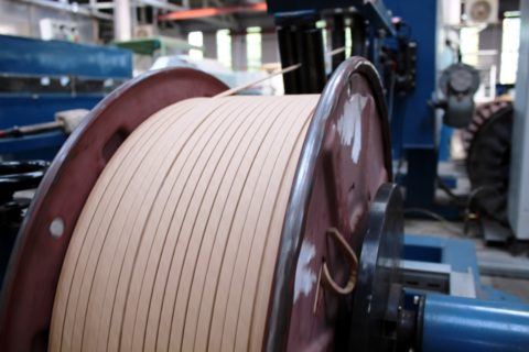Бумажная изоляция прямоугольного провода для трансформаторов