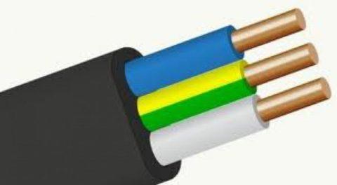Плоский кабель ВВГнг