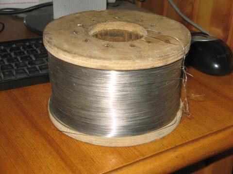 Специальный провод из нихрома для обмоток