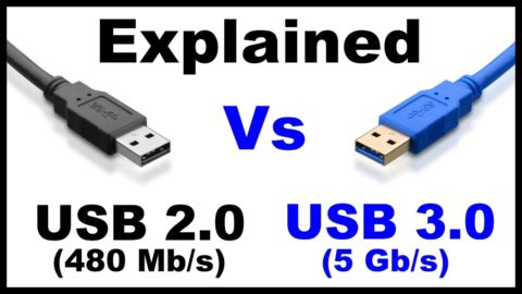 Сравнение скорости разъемов USB