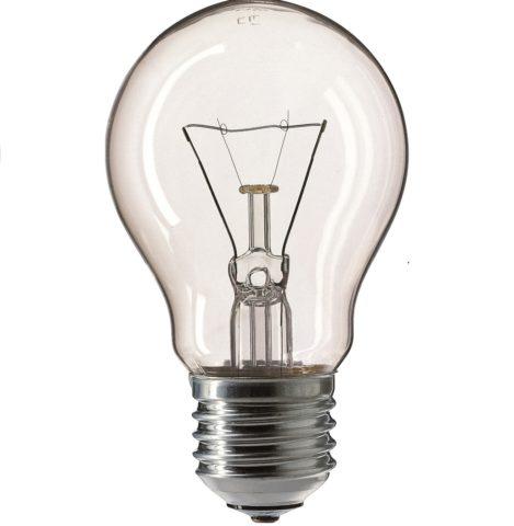 100-ваттная лампа накаливания