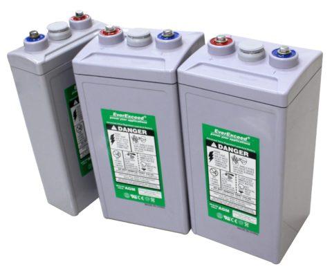 Аккумуляторные батареи большой емкости