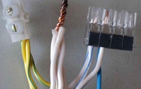 Методы соединения силовых проводов