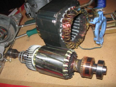 Неисправности электродвигателя стиральной машины индезит