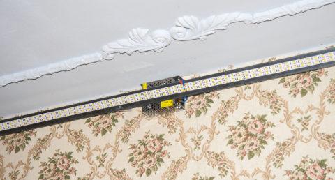 Основой для ленты может стать любой материал с высокой теплопроводностью