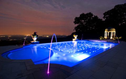 Создаем освещение нашего бассейна