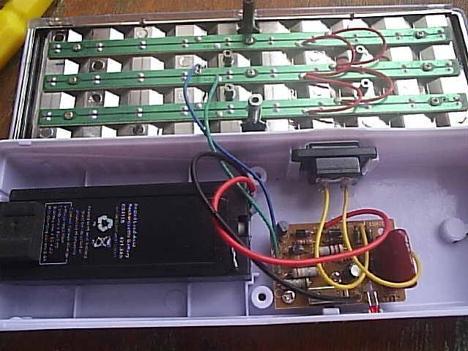 Светильник аварийного освещения со встроенным аккумулятором
