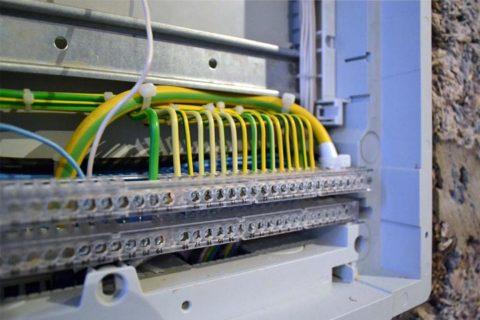 Требование к проводам заземления