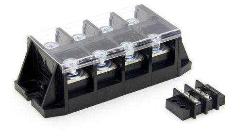 Винтовое соединение проводов и кабелей большого сечения