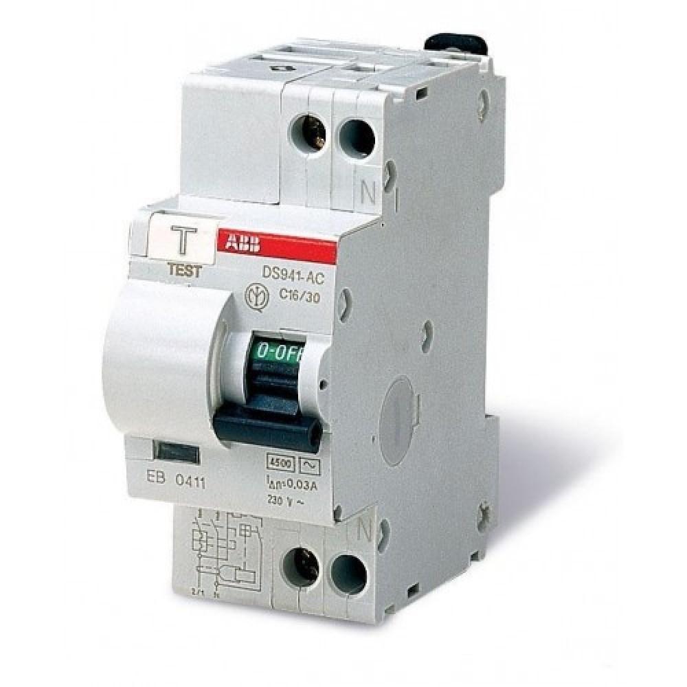 Автомат УЗО на ток утечки в 30мА