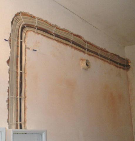 Материал капитальной стены обеспечивает эффективный теплоотвод