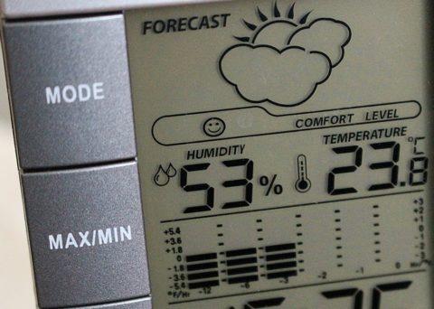 Прибор для измерения влажности в помещении