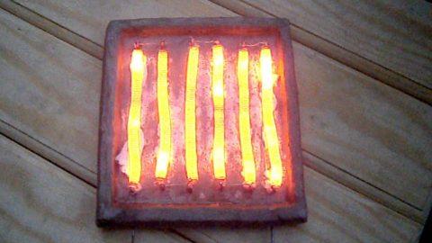 Простейшая электрическая печь