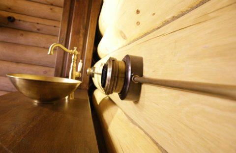 Проводка в медной трубе может быть не только безопасной, но и стильной