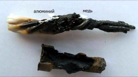 Соединение медных и алюминиевых проводников