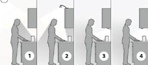 Точечные источники света дают мешающие работе тени