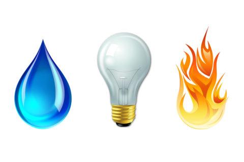Вода и электрическая энергия