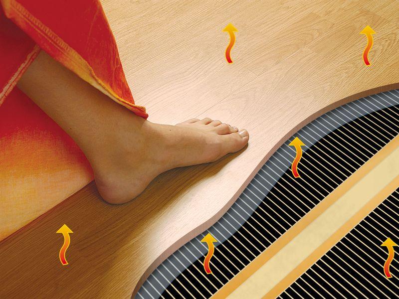 Электрический теплый пол - преимущества