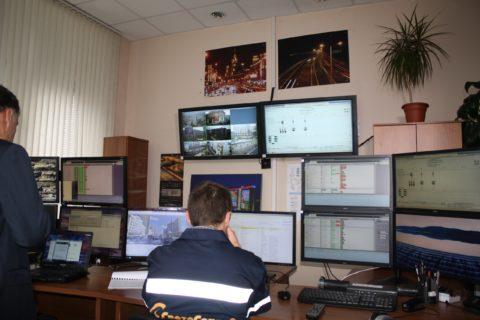 Диспетчерский центр управления уличным освещением