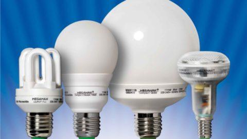 Энергосберегающие лампы разных форм