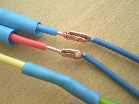 Не разборной вариант пайки одножильного и многожильного провода
