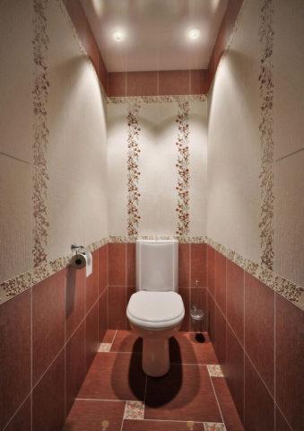 Освещение туалета