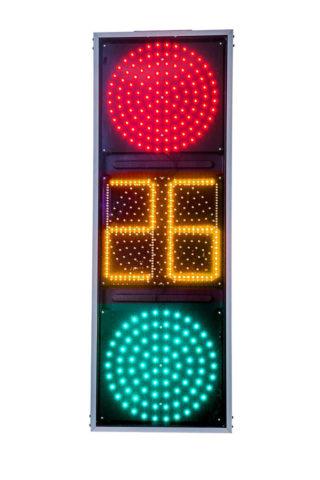 Плоский светодиодный светофор