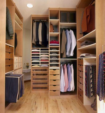 Помещение для хранения одежды
