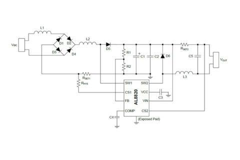Схема драйвера светодиода